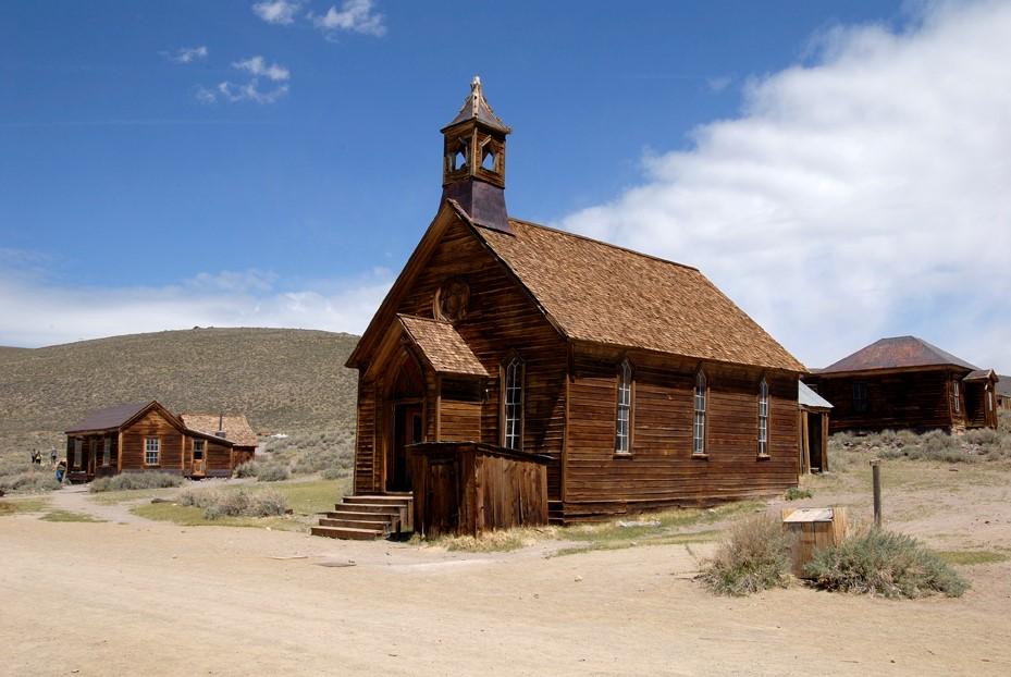 L'église de Bodie