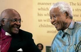 Desmond Tutu et Nelson Mandela