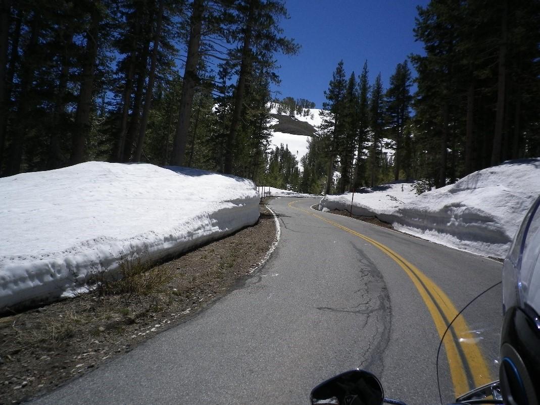 Sonora Pass, à côté de la Sierra Nevada