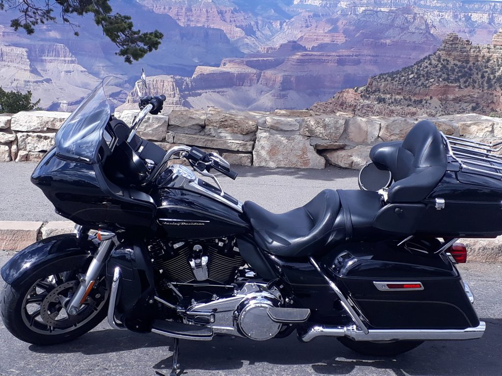 Photo d'une Harley Davidson