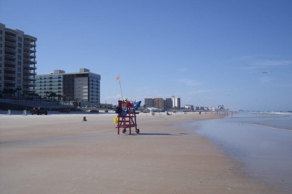 Les plages aux alentours de Daytona
