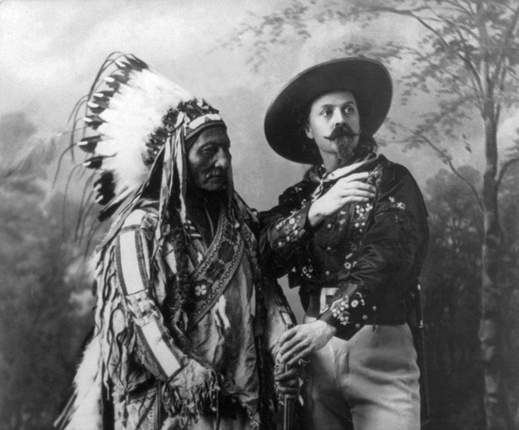 Buffalo Bill et Sitting Bull