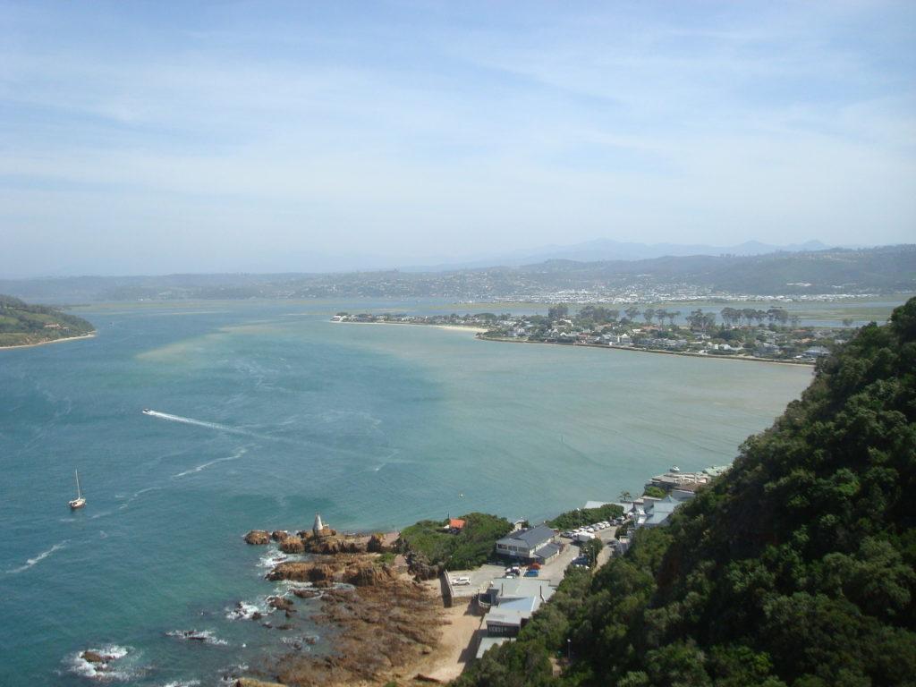 vue panoramique des paysages d'Afrique du Sud