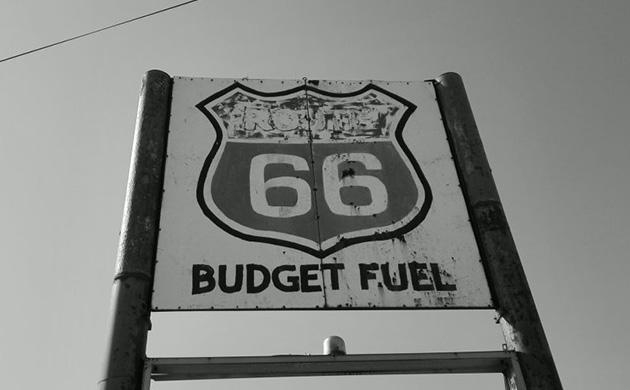 Aire de pause sur la route 66