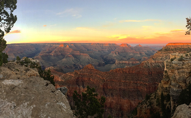 Grand Canyon vue panoramique
