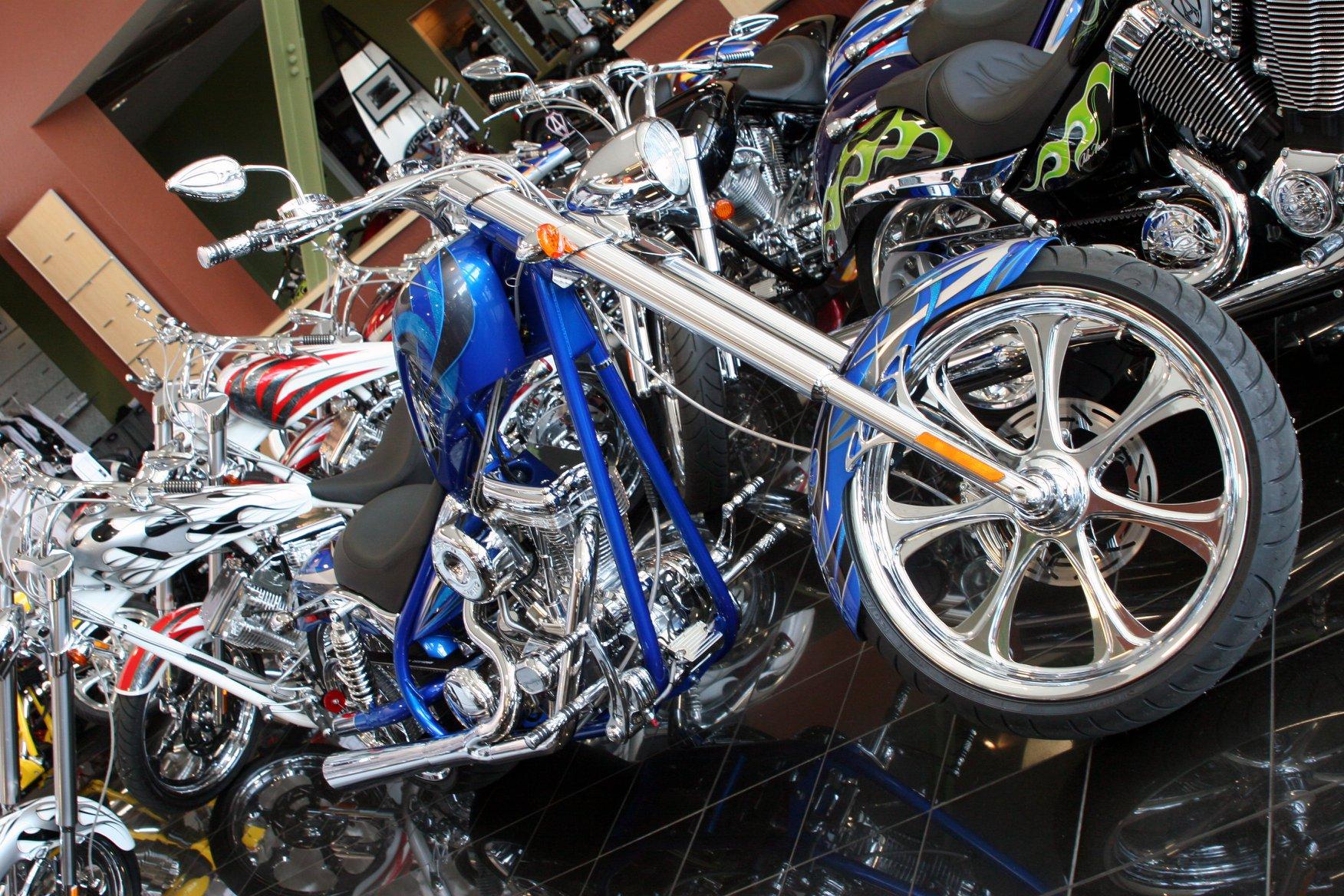 moto customisée arlen ness
