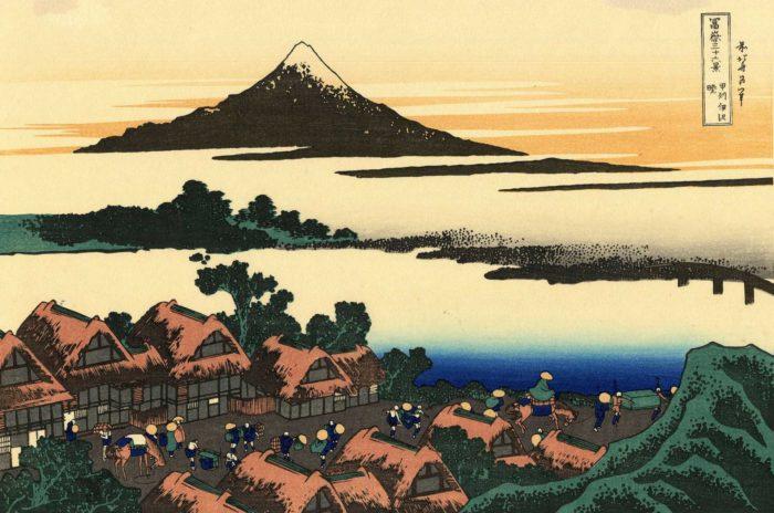 Représentation graphique du Mont Fuji