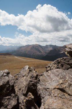 Panorama de Trail Ridge Road