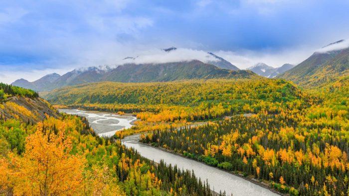 La beauté des paysages d'Anchorage