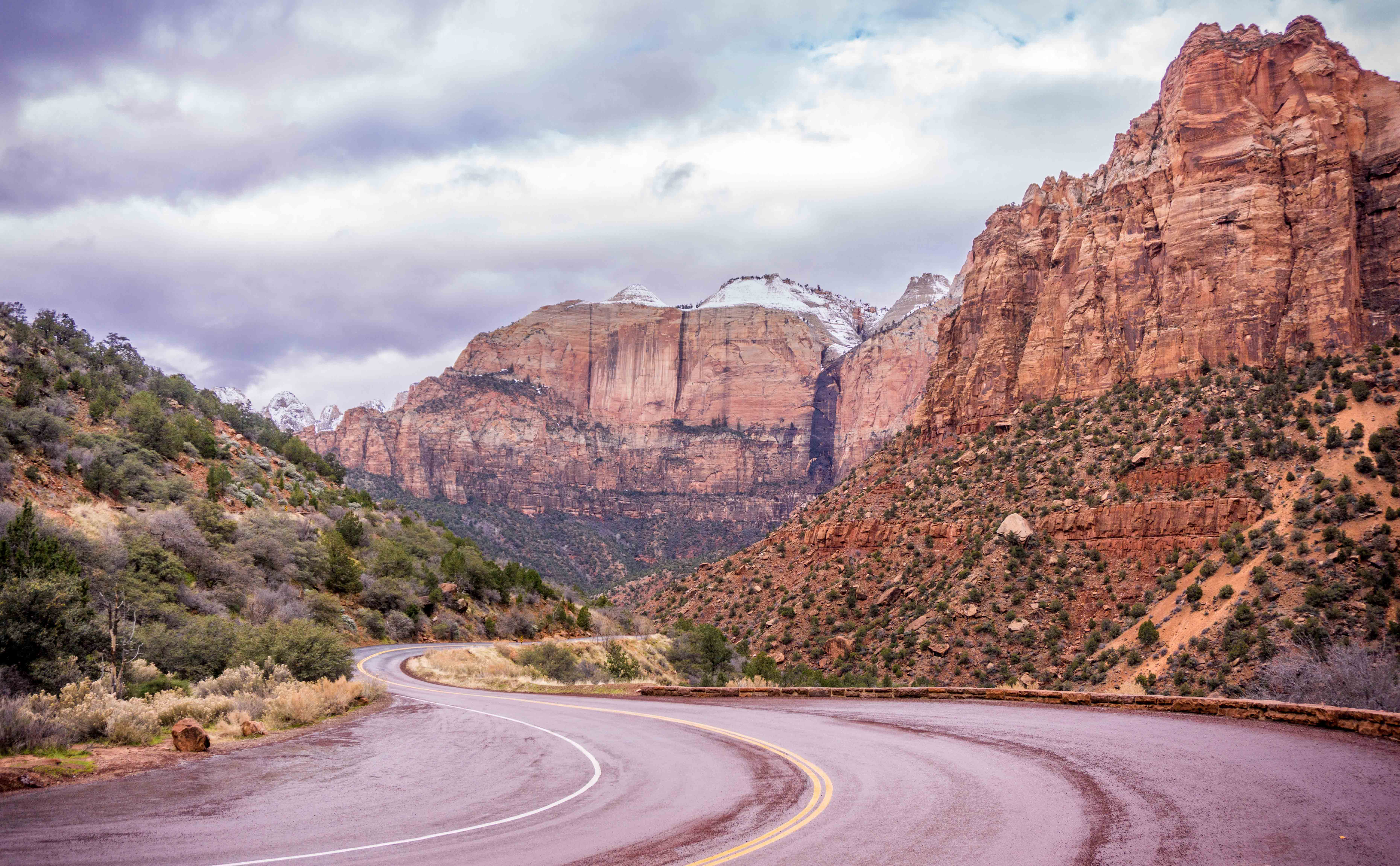 Zion Scenic Drive